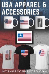 USA and 4th of July Baseball and Softball t-shirts hoodies and more