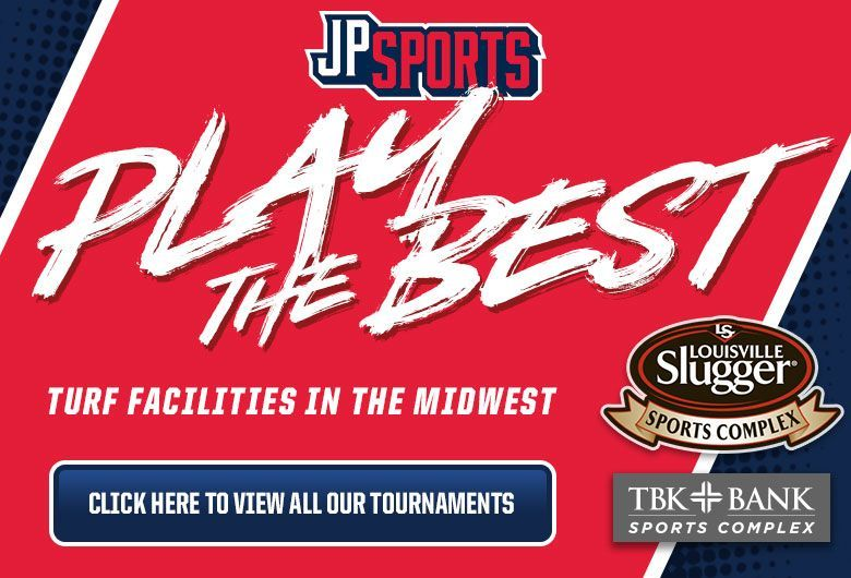 JP sports youth baseball tournaments in Illinois and Iowa summer 2019